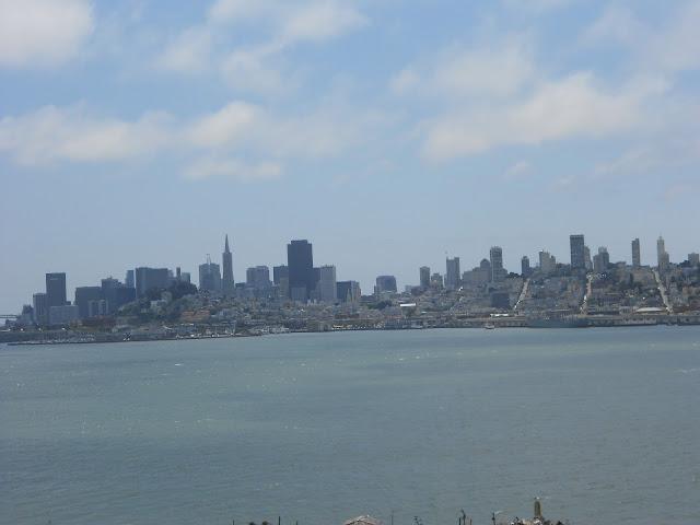 São Francisco - vista de Alcatraz