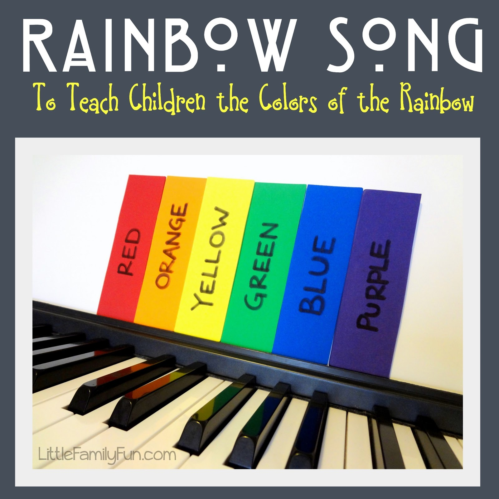 Little Family Fun Rainbow Song