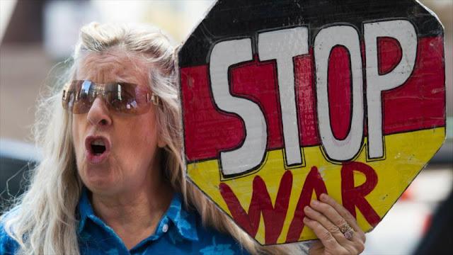 Estadounidenses protestan contra gasto de sus impuestos en guerras