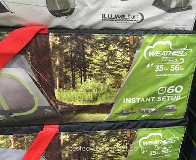 Coleman 10-Person Instant Cabin Tent: the comforts of inside when you're outside