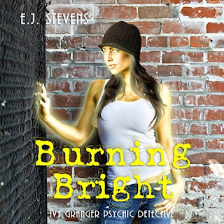 Burning Bright Ivy Granger Psychic Detective Award Winning Urban Fantasy Audiobook by E.J. Stevens