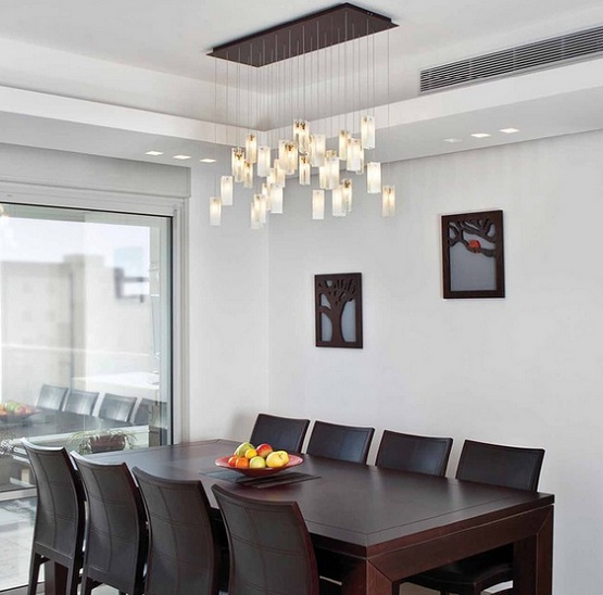 Use a important eye to determine whether the lamp you ve selected is  appropriate  Place a lamp about every end of the serving part for a  classic. Dining Room Lighting Ideas   Best Inspiring Interior Design For Homes