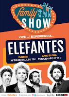 Conciertos de Elefantes en Family Show