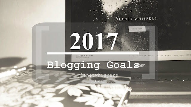 My Blogging 2017 Goals