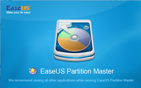 EaseUS Partition Master 10.2