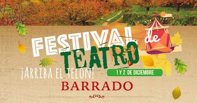 Festival de Teatro (1 y 2 de diciembre 2017 en Barrado)