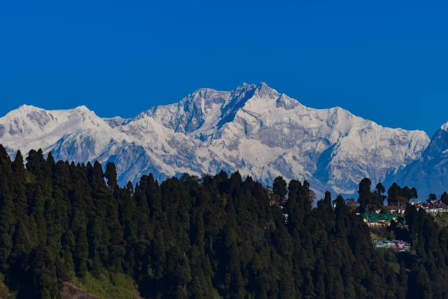 Darjeeling snow hill