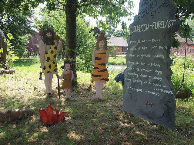 Godstone Farm, Surrey Review - Dino Trail - Cavemen