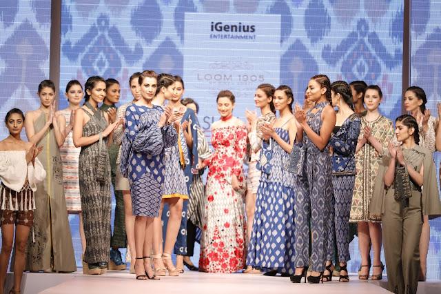 Gauahar Khan Walked the Ramp for Designer Rinku Sobti at Asian Designer Week on Day 1