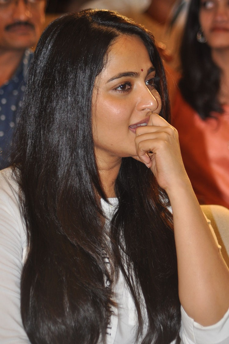 Anushka Shetty at The World of Baahubali Press Meet Gallery
