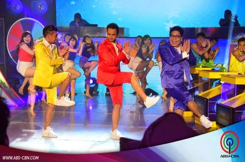 WATCH: Billy, Jugs, Teddy on Magpasikat prod number (Video)