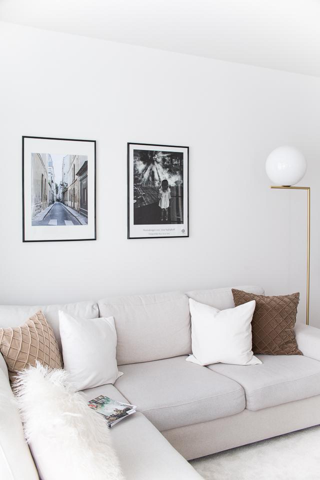 Villa H, tauluseinä, olohuoneen sisustus, kodin sisustus, zarro tyynyt