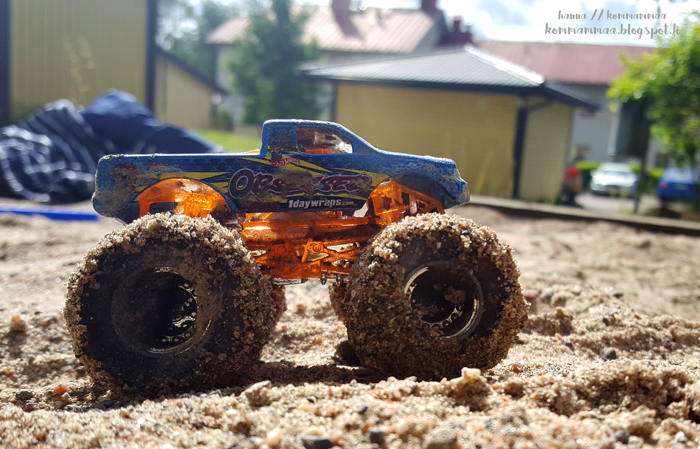 monster auto hiekkalaatikko juhannus 2017 kaupunki