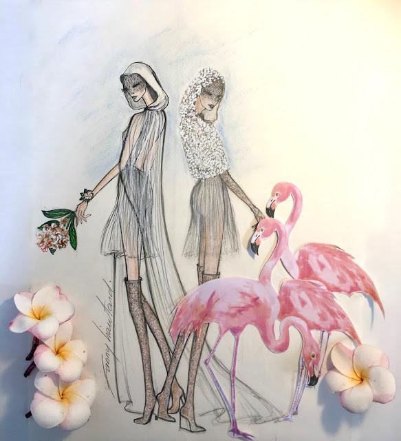 Fanny Liautard collection robes de mariée en mousseline  créateur Paris