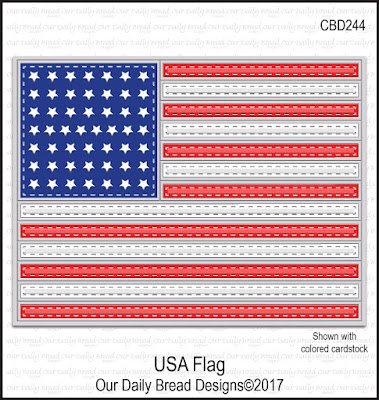 Custom Dies: USA Flag