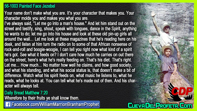 Your name do not make what you are It is your character