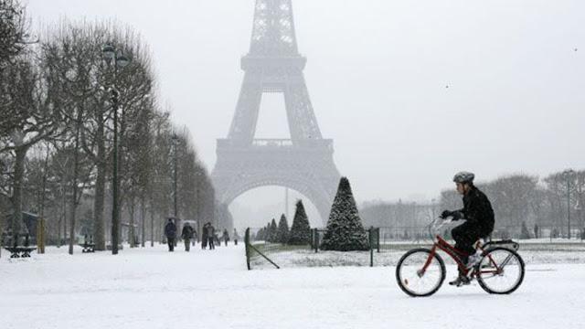 Paris no inverno