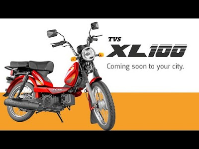 TVS XL 100 Hd right side Pictures ;