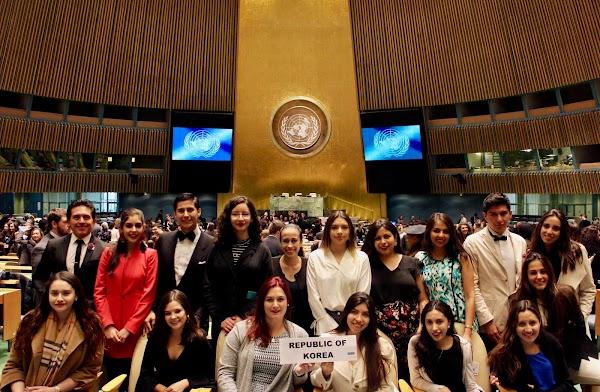 Destacada participación del equipo USFQ en el National Model United Nations 2018