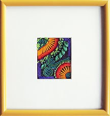 How to Frame Bead Embroidery