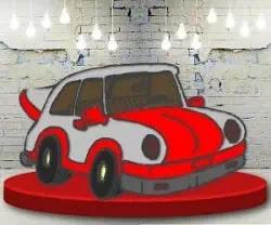 Araba Boyama Oyunu - Cars Coloring