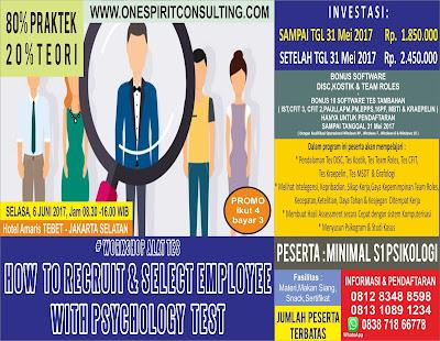 Pelatihan Psikologi 2017