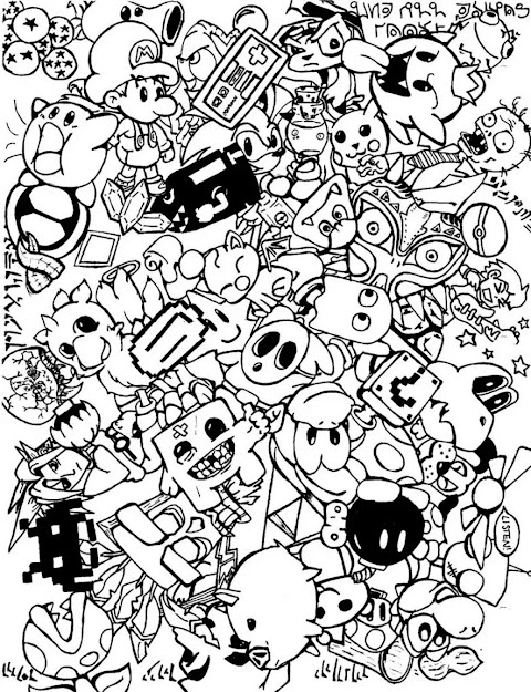 Discover Our Free Adult Coloring Pages  Various Themes Artists Difficulty  Levels The Perfect Antistress Activity For You  Doodling  Doodle Art