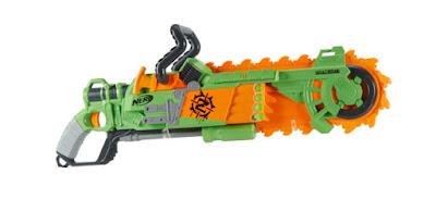 Súng Nerf cưa Zombie Strike Brainsaw Blaster