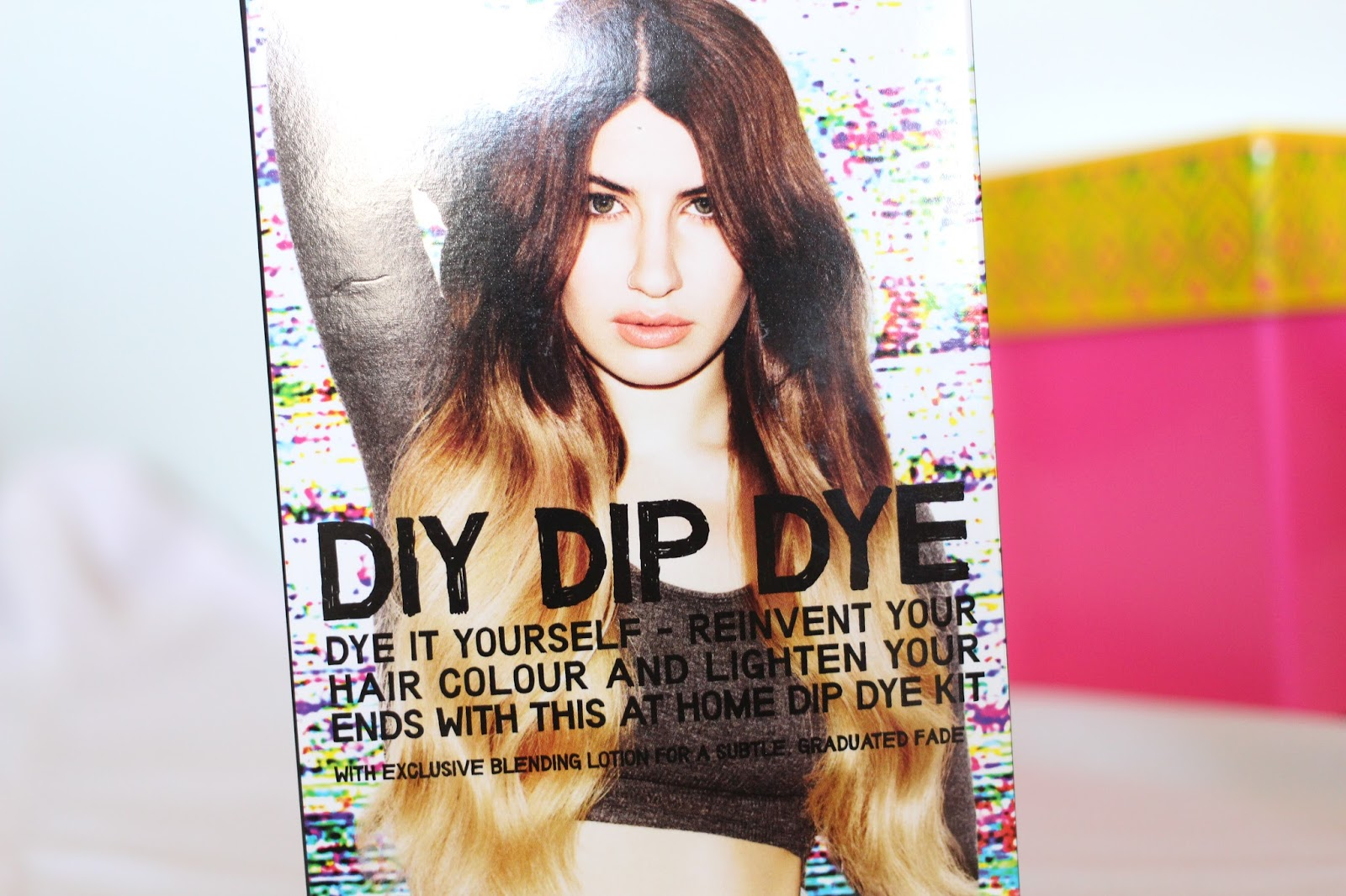 Ombre hair bleach london diy dip dye kit review beauty and the bird bleach london diy dip dye solutioingenieria Image collections