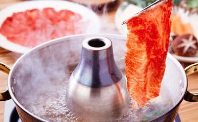 cara makan shabu jepang