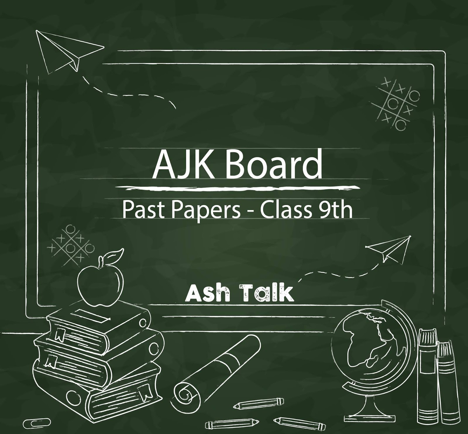 All-Books-Past-papers-AJK-Board