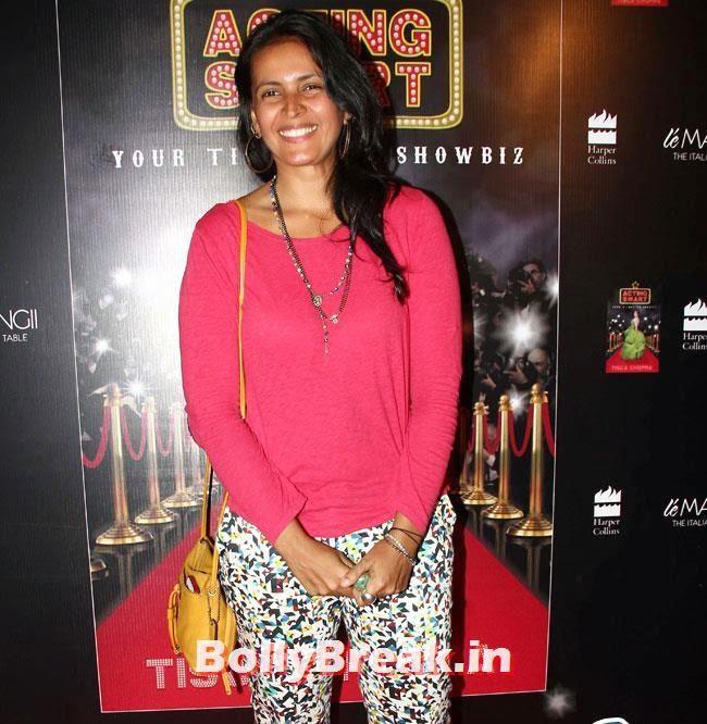 Vikramaditya Motwane, Kavita Kaushik, Sakshi Tanwar at Tisca Chopra's book, Acting Smart Success Bash