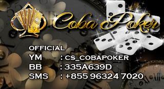 """CobaPoker Agen Poker, Dewa Poker, Agen Domino QQ, Agen BandarQ, BandarQ Terpercaya"""