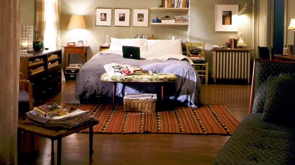 danielle windass carrie bradshaw s apartment. Black Bedroom Furniture Sets. Home Design Ideas