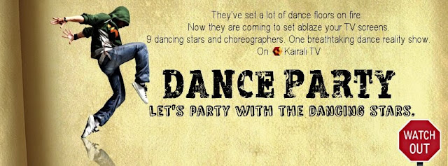 DANCE PARTY- A New TV Reality Show on Kairali TV