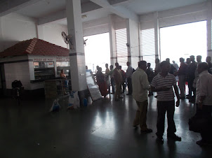 Ernakulam Ferry terminal for local boat travel.