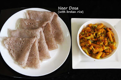 dosa with rice podi ari dosa neer dosa with red rice breakfast dosa batter