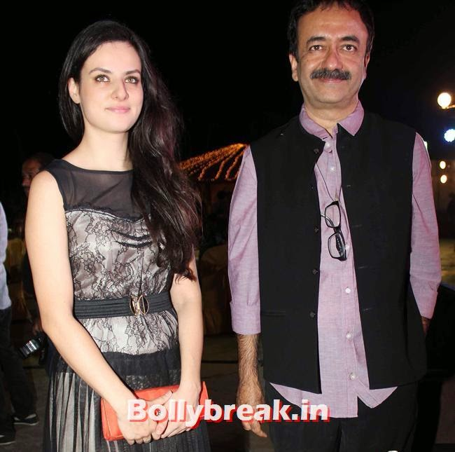 Elena Kasnat and Rajkumar Hirani, Jal Movie Music Launch Pics