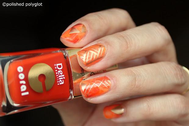 nail art design short nails