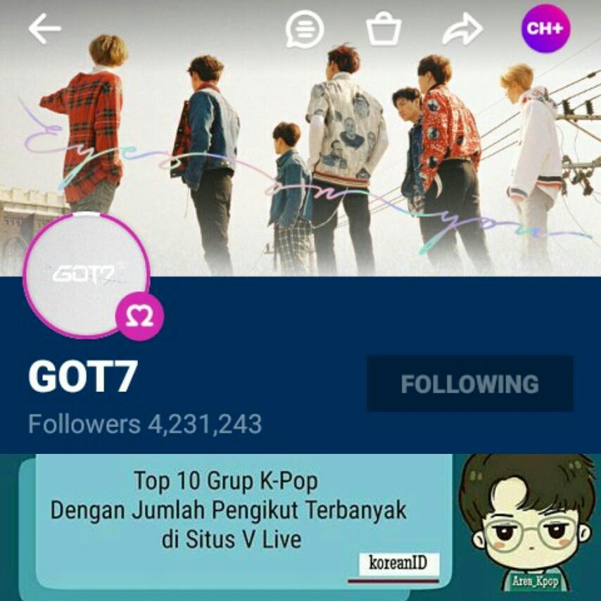 Asian Stars: (News) GOT7 Rank 4 dalam Grup Kpop dengan