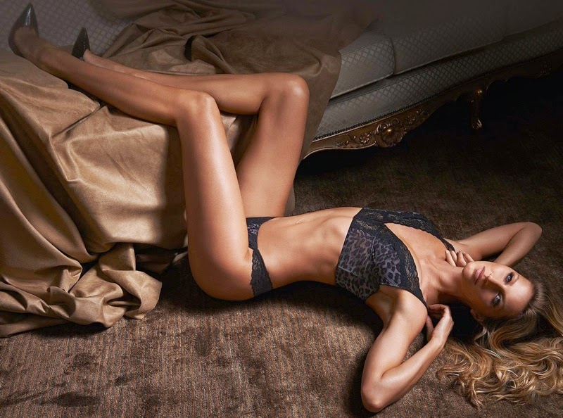 Gisele shows off new lingerie looks for Fall/Winter 2014 from Gisele Intimates