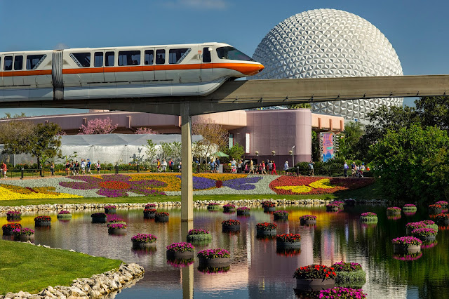 The Epcot International Flower & Garden Festival. The festival, which runs 90 days March 1-May 29, 2017 at Walt Disney World Resort in Lake Buena Vista, Fla., features dozens of character topiaries, stunning floral displays, gardening seminars and the Garden Rocks concert series - all included in regular Epcot admission. (Gene Duncan, photographer)