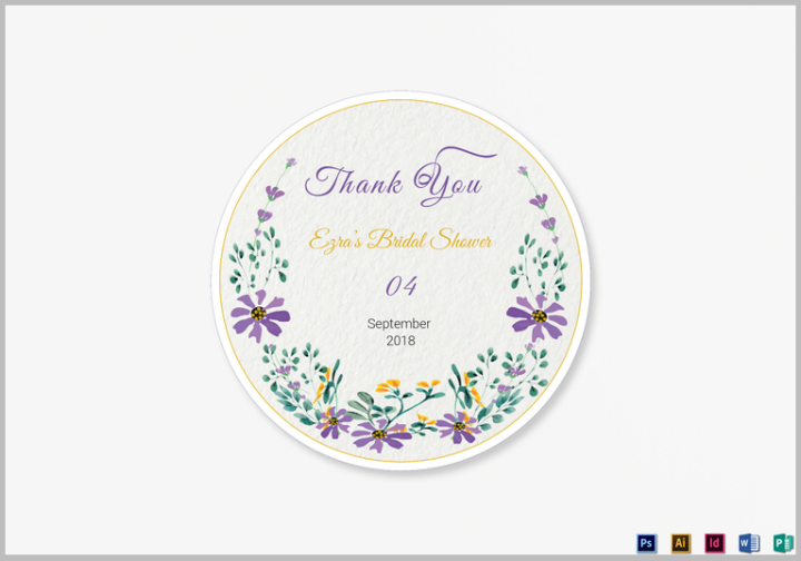 Cờ hoa Wedding Template Template PSD