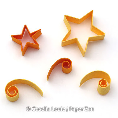 Quilling Letter S Tutorial and How to Make Shooting Stars