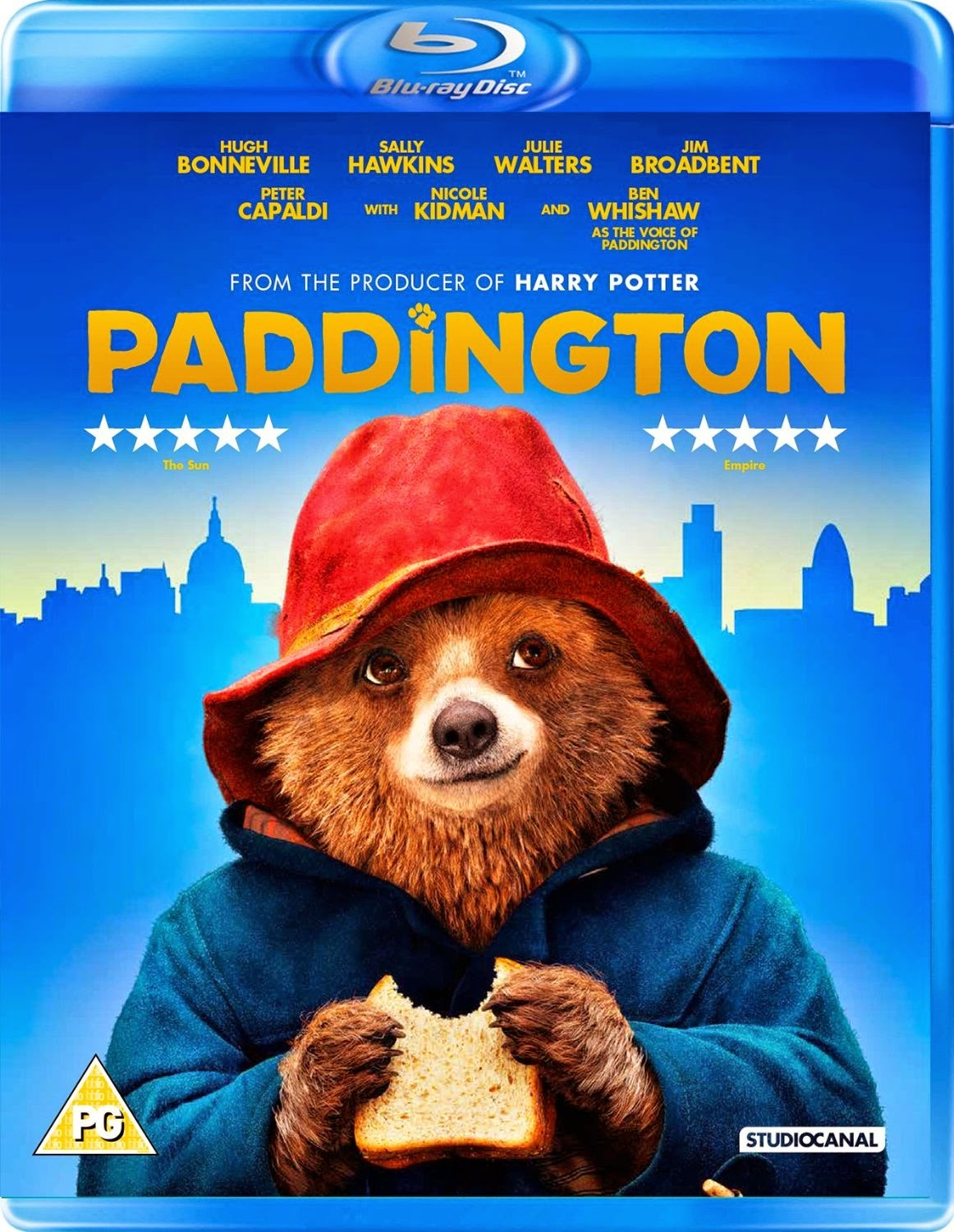 Paddington Blu-ray Cover Caratula
