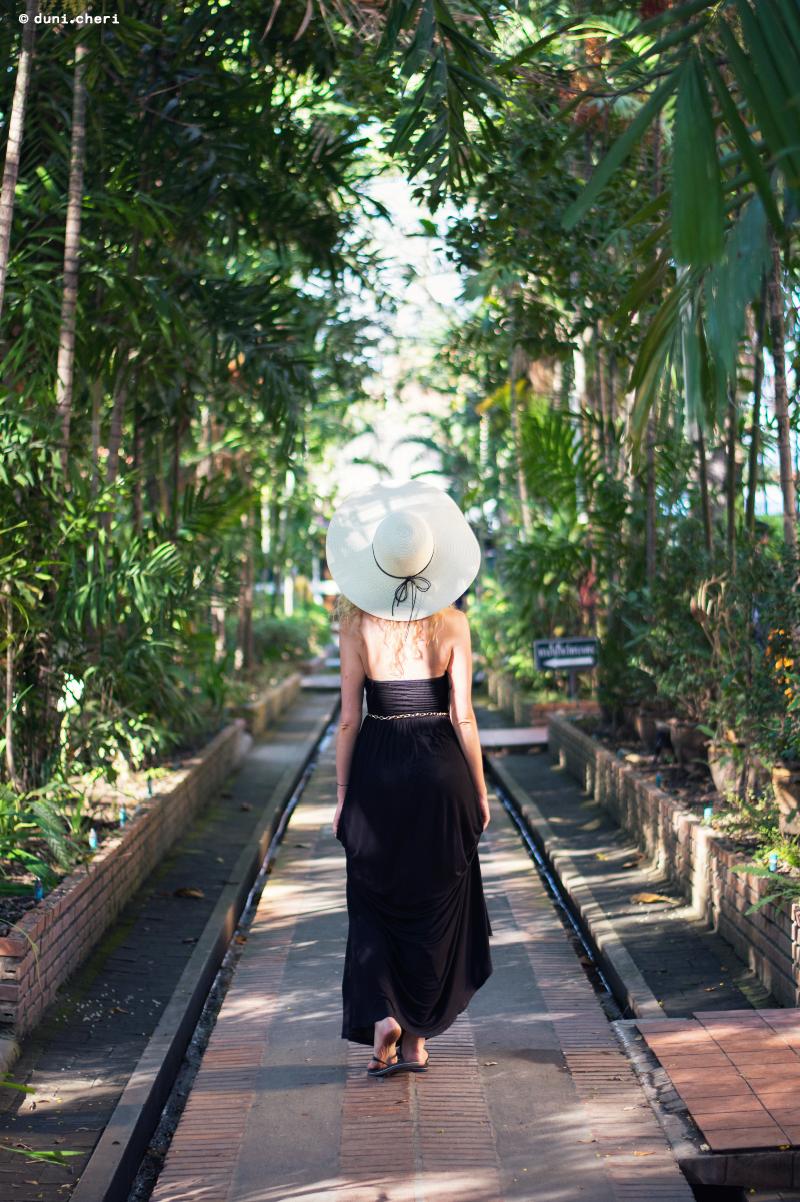 thailand temepel dshungel bambus allee
