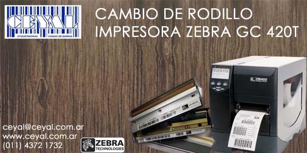 servicio tecnico rotuladora Zebra