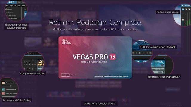 MAGIX VEGAS Pro 16.0.0.307 (x64) - Phần mềm chỉnh sửa video tuyệt vời
