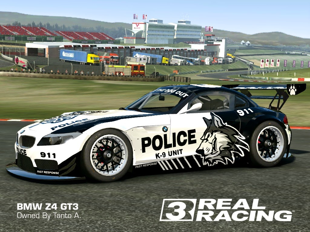 real racing 3 skin 2010 bmw z4 gt3 skin k9 police bmw z4 gt3 hd livery by tanto arc. Black Bedroom Furniture Sets. Home Design Ideas