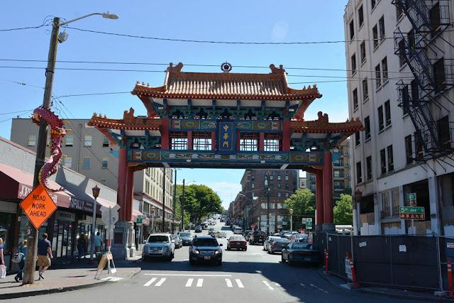 Chinatown Seattle gate